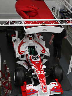 Items for sale Super Aguri F1 Team auction, Leafield Technical Centre, Oxfordshire