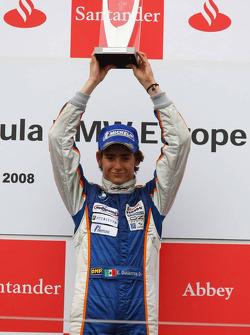 Primer lugar Esteban Gutiérrez, Josef-Kaufmann-Racing