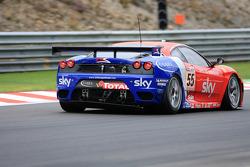 #55 CR Scuderia Ferrari F430: Chris Niarchos, Tim Mullen, Andrea Piccini, Gordon Shedden