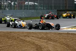 #26 Henkie Waldschmidt SG Formula Dallara-Mercedes; #21 Stefano Coletti Prema Powerteam Dallara-Mercedes; #23 Sam Bird Manor Dallara-Mercedes
