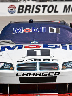 The Mobil 1 Dodge sits on pit road
