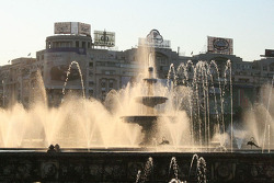Bucharest fountains