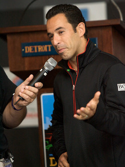 Detroit Grand Prix media lunch at the Detroit Yacht Club: Helio Castroneves