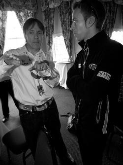 Adrian Fernandez and Timo Bernhard