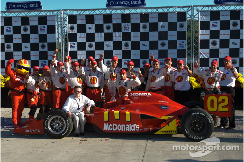 2008: Geboorte IndyCar en meer succes