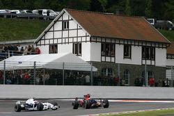Sebastian Vettel, Scuderia Toro Rosso, Robert Kubica, BMW Sauber F1 Team