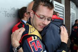 Sébastien Bourdais, Scuderia Toro Rosso; Franz Tost, Scuderia Toro Rosso, Teamchef
