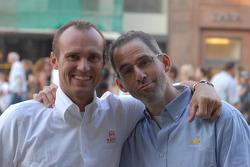 Rickard Rydell and Alain Menu