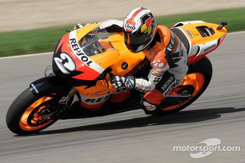 2008, MotoGP: 3º en el campeonato con 249 puntos