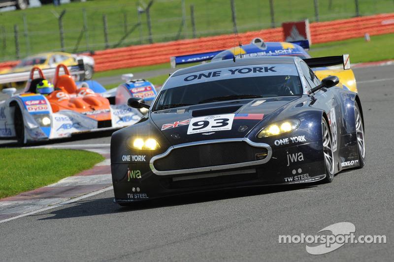 #93 James Watt Automotive Aston Martin Vantage V8: Tim Sudgen, Michael Outzen, Alan Van der Merwe