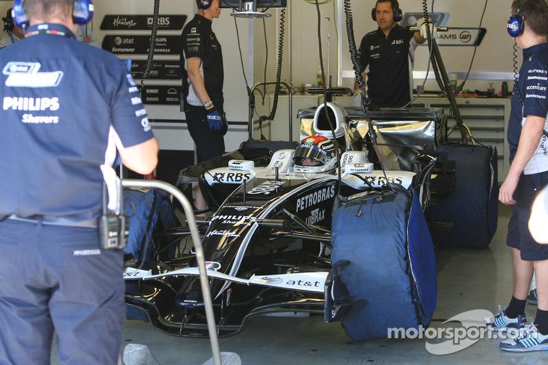 Dani Clos, Test Driver, Williams F1 Team, FW30