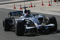 Dani Clos, pilote d'essai, Williams F1 Team, FW30