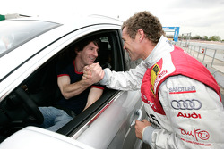 Lionel Messi y Tom Kristensen