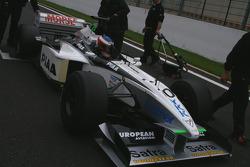 Frits Van Eerd (NL) VES Racing, F1 Tyrrell 026 Ford 3.0 V8 (formerly driven by T. Takagi)
