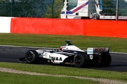 Pace lap: Frits Van Eerd (NL) VES Racing, F1 Tyrrell 026 Ford 3.0 V8