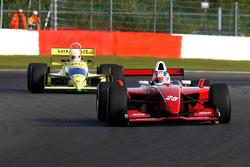 #25 Karl-Heinz Becker (D) Becker Motorsport, WS Dallara Nissan 3.4 V6, and #31 Henk De Boer (NL) Racing for Business, F1 Coloni FC188 Cosworth 3.5 V8