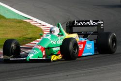 Florent Moulin (F) Ecurie Florent Moulin, F1 Benetton B188 Cosworth 3.5 V8