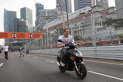 Alexander Wurz, Honda Racing F1 Team piloto de prueba