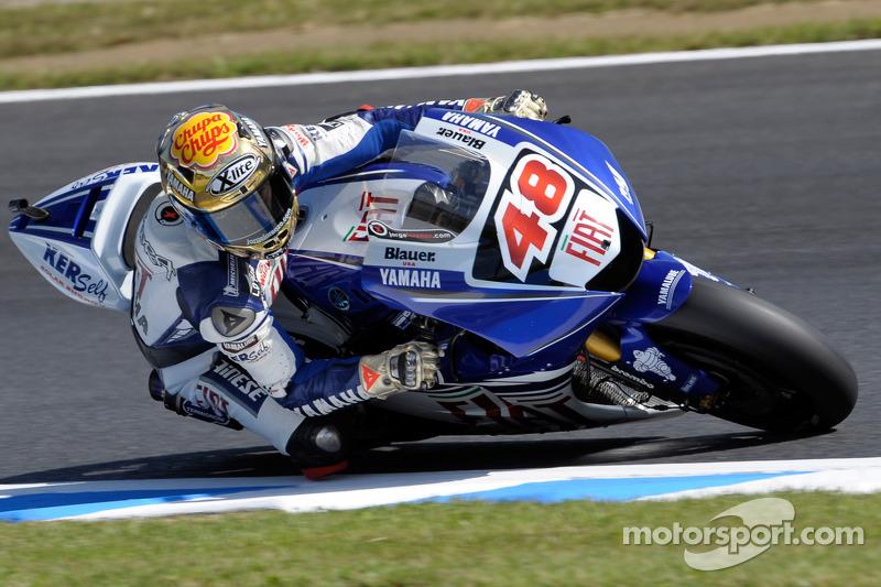 Jorge Lorenzo, Fiat Yamaha Team 2008