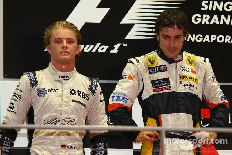 2008赛季新加坡大奖赛:首次获得第2名