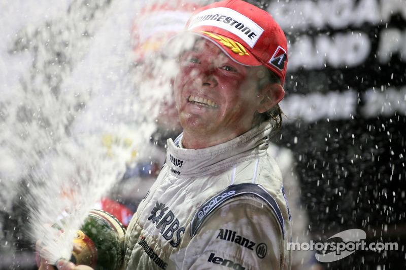 Podium: 2. Nico Rosberg