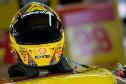 Helmet of Kevin Harvick