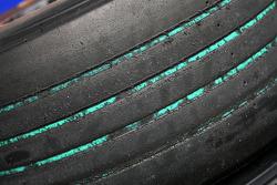 Used Bridgestone green tyres