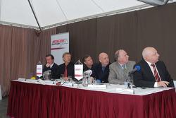 Press-conference in Fedukovo