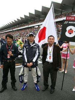 Ukyo Katayama, Fuji TV, Kazuki Nakajima, Williams F1 Team ve babası Satoru