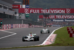 Rubens Barrichello, Honda Racing F1 Team, Jenson Button, Honda Racing F1 Team