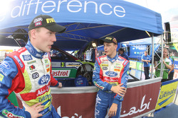 Jari-Matti Latvala and Mikko Hirvonen