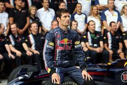 Red Bull Racing photoshoot: Mark Webber