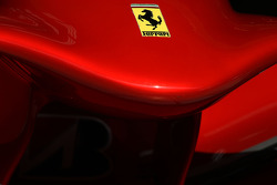 The nose cone of Scuderia Ferrari