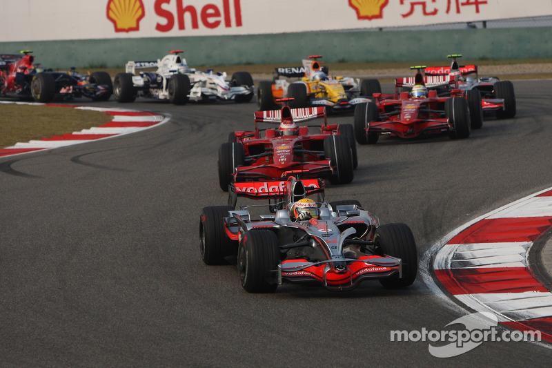 2008 : Lewis Hamilton, McLaren MP4-23