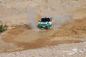 #12 Yazeed Al Rajhi Rally Team Subaru Impreza N12: Yazeed Al Rajhi and Mathieu Baumel