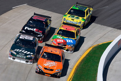 Tony Stewart, Dale Earnhardt Jr., Kyle Busch, Denny Hamlin and Matt Kenseth