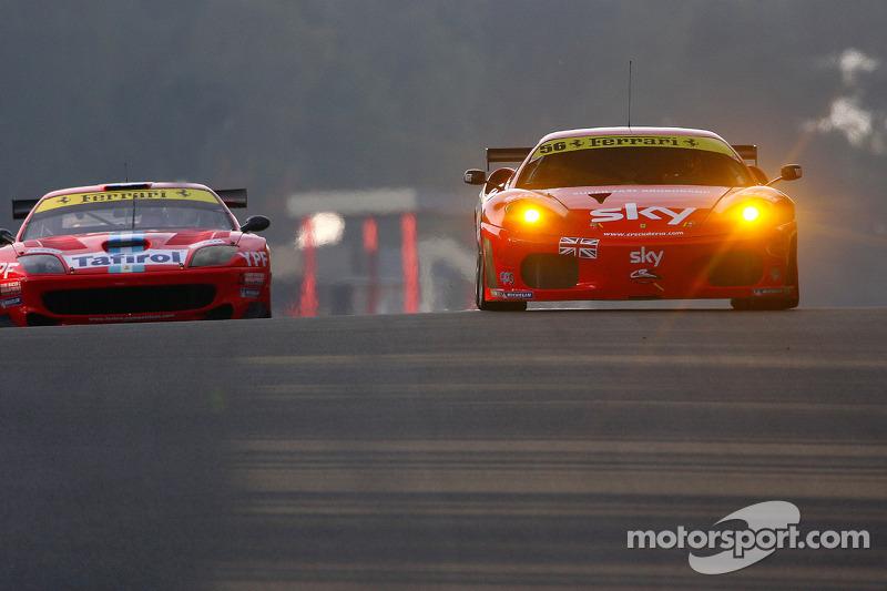 #56 CR Scuderia Ferrari F430: Andrew Kirkaldy, Dirk Muller