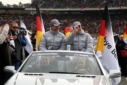 Ralf Schumacher, Mücke Motorsport AMG Mercedes, AMG Mercedes C-Klasse and Maro Engel, Mücke Motorsport AMG Mercedes, AMG Mercedes C-Klasse