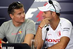 FIA press conference: David Coulthard and Rubens Barrichello