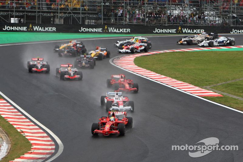 Felipe Massa, Scuderia Ferrari lidera