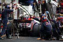 Pitstop, Mark Webber, Red Bull Racing