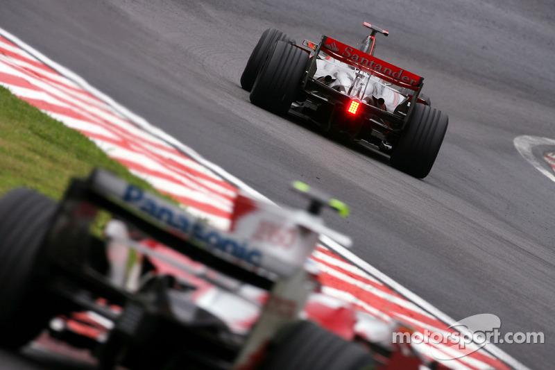 Льюіс Хемілтон, McLaren Mercedes, Тімо Глок, Toyota F1 Team