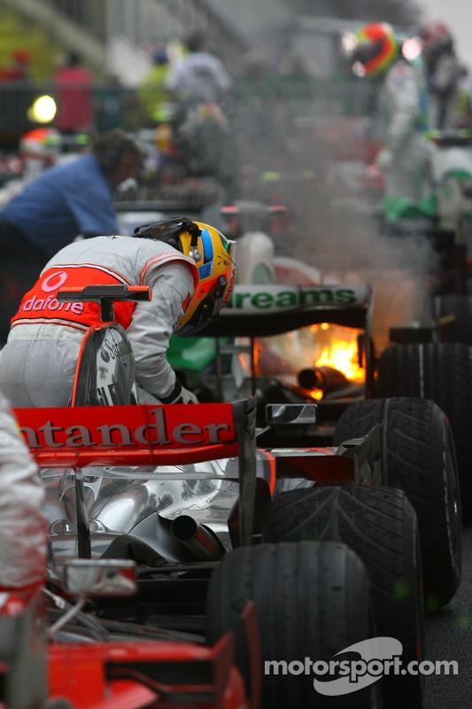 Campeón del mundo 2008 Lewis Hamilton