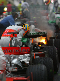 2008 World Champion Lewis Hamilton