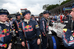 Des membres de Red Bull Racing
