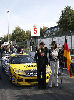 Phoenix Carsport Racing Corvette Z06, Marcel Fässler and Jean-Denis Deletraz