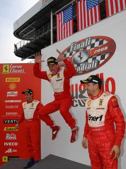 Saturday race: USA podium
