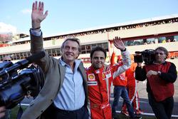 Luca di Montezemolo and Felipe Massa