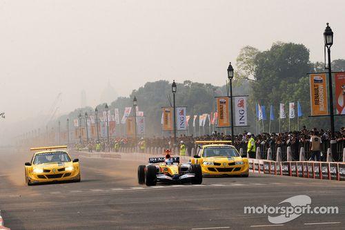 Renault Roadshow, New Delhi, Hindistan