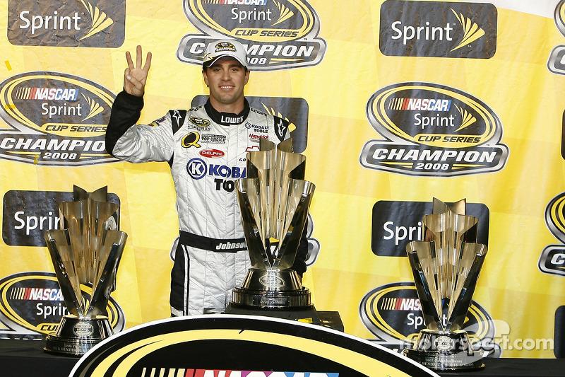 2008: Jimmie Johnson - Hendrick Motorsports - Chevrolet